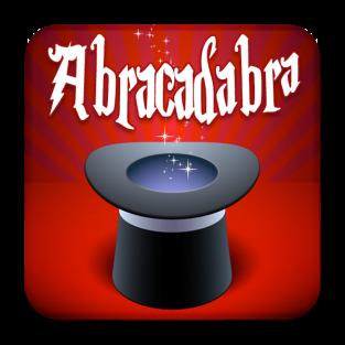 Imagini pentru abracadabra scris pe hartie